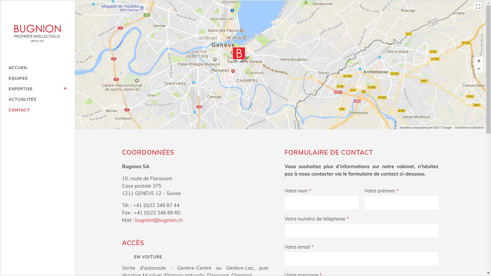 Bugnion_SA_site_internet_Genève